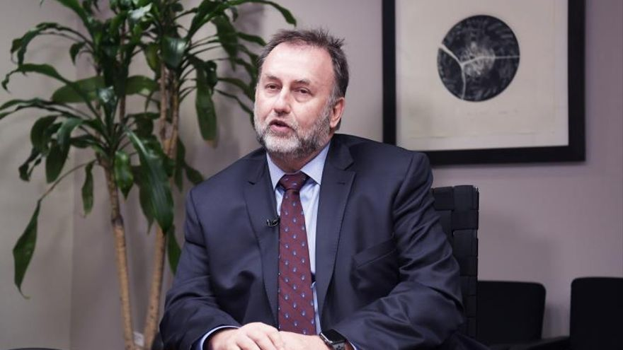 En la imagen, el ministro de Hacienda de Paraguay, Benigno López.
