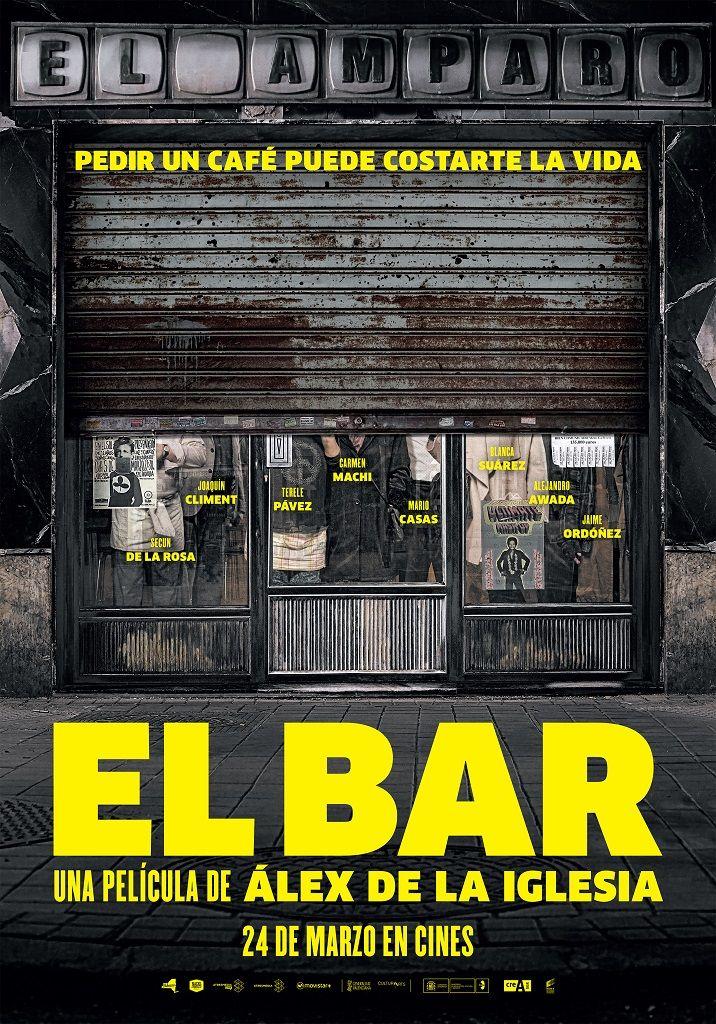Cartel de 'El Bar', de Álex de la Iglesia