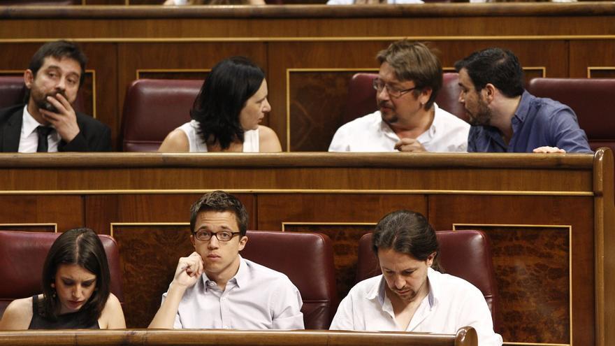 """Errejón dice que la falta de decisión de Sánchez deja avanzar la """"opción de chantaje de Rajoy"""" de votar en Navidad"""