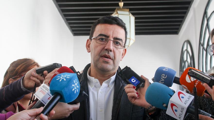 """Jiménez (PSOE) cree que la dirección de Podemos debe """"impedir"""" la moción de censura con el PP en Blanca (Murcia)"""