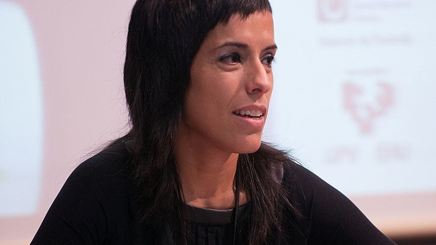 Sara Buesa, hija de Fernando Buesa, asesinado por ETA en 2000.