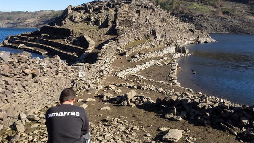 La reserva de agua acumulada en los embalses sigue bajando