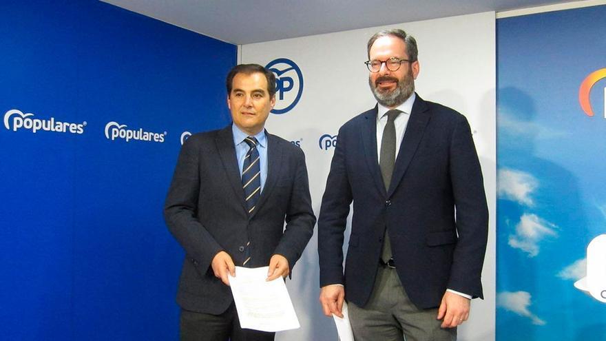 José Antonio Nieto y Adolfo Molina.