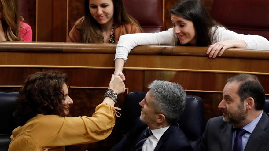 El Gobierno y Podemos se emplazan a seguir trabajando aunque decaiga el Presupuesto