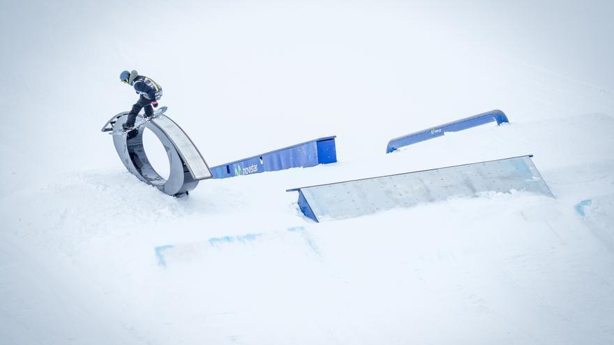 Lucas Eguibar ha diseñado el boardercross