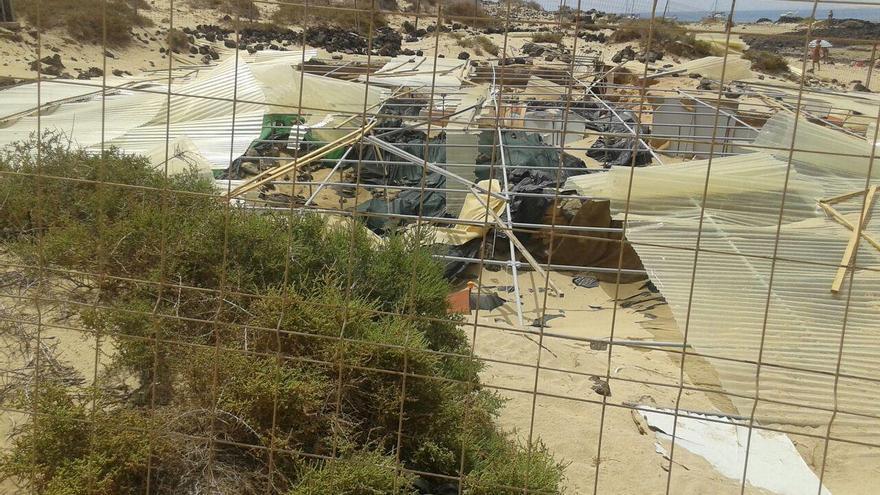 Yacimiento arqueológico de Lobos