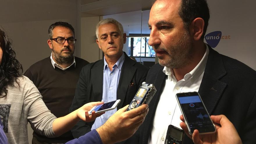 Espadaler acusa a Colau de apostar por el independentismo tras romper con el PSC