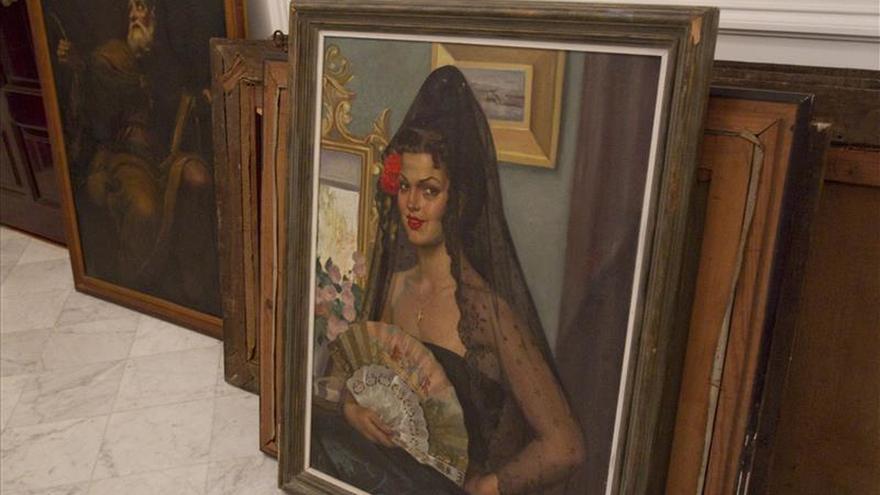 Orden registro de la casa de la hija de Muñoz Ramonet en busca de cuadros de Goya y el Greco