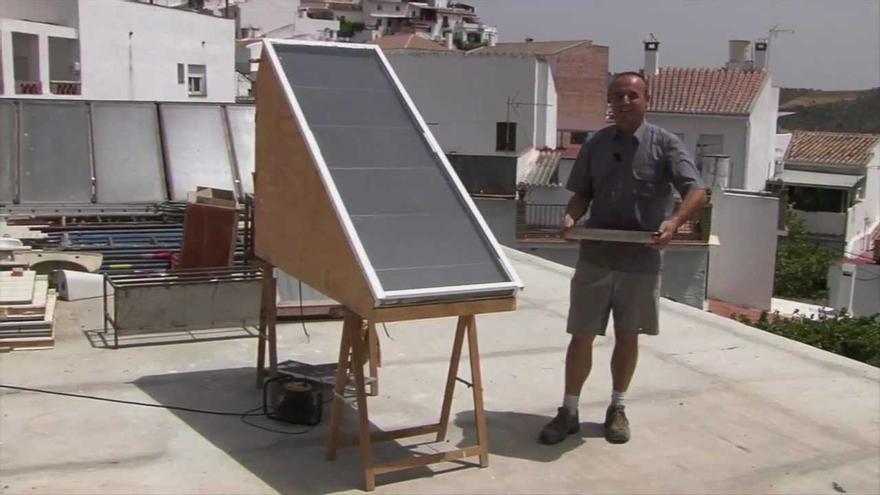 """Deshidratador solar de fruta y verdura del proyecto """"Arte de mis manos"""" cofinanciado mediante crowdfunding"""