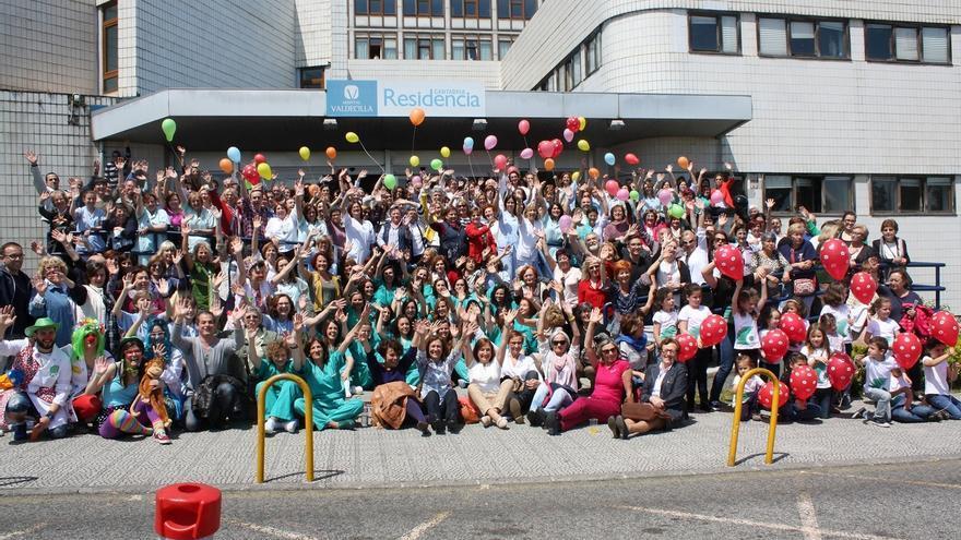 Cerca de 500 profesionales dan su adiós a la Residencia Cantabria, su lugar de trabajo durante 47 años