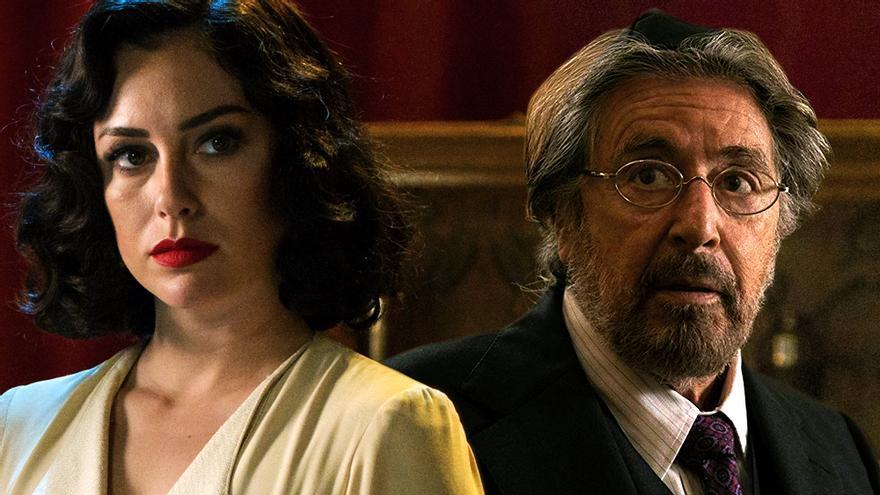 Blanca Suárez y Al Pacino en las series de febrero