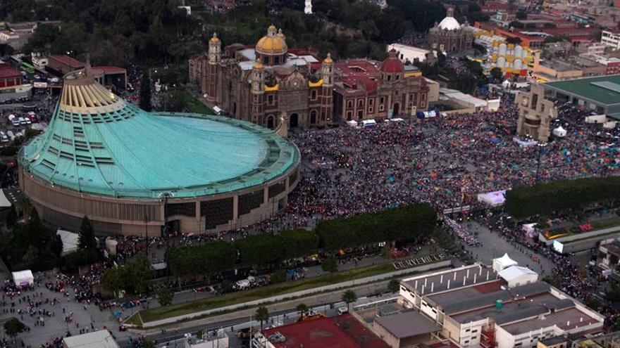 El fervor guadalupano congrega a millones de fieles en la Ciudad de México