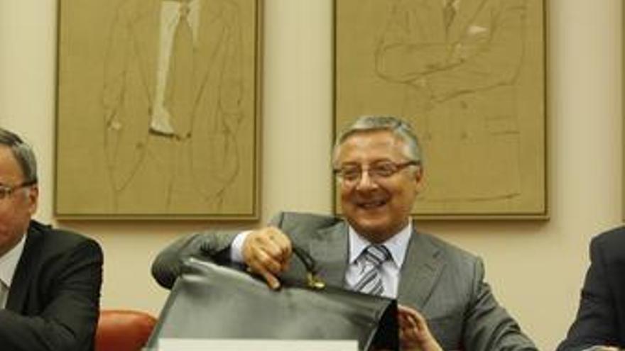 Ministro de Fomento José Blanco