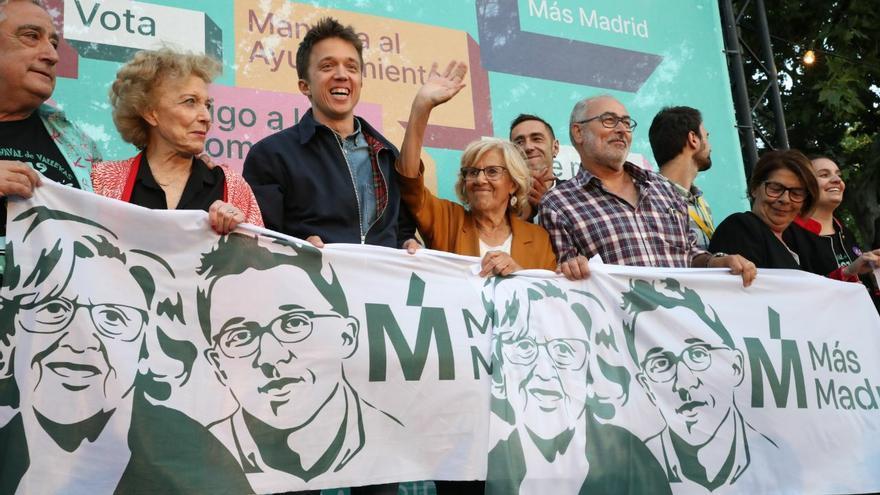 Cierre de campaña de Más Madrid.