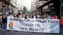 La defensa del río Mula llega a Murcia