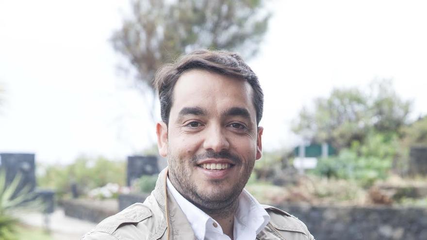 Antonio Rocha, concejal del PP en el Ayuntamiento de Tazacorte.