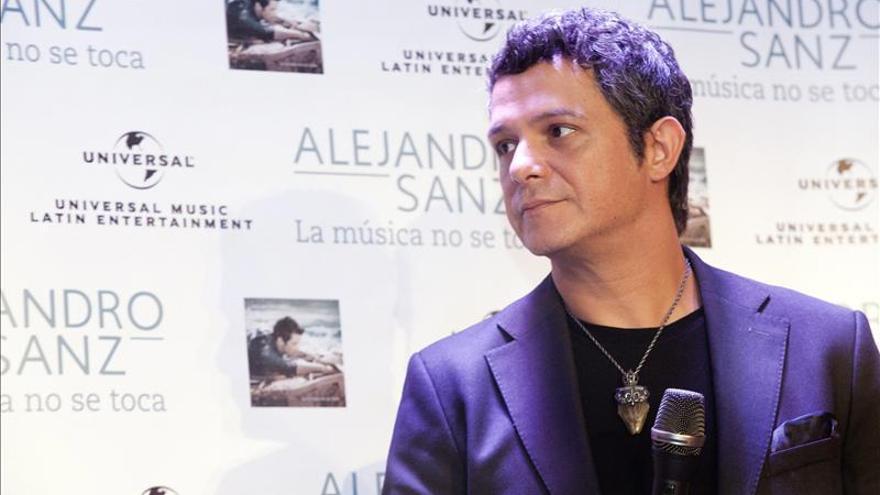 Alejandro Sanz reconoce que sigue poniéndose nervioso antes de un concierto