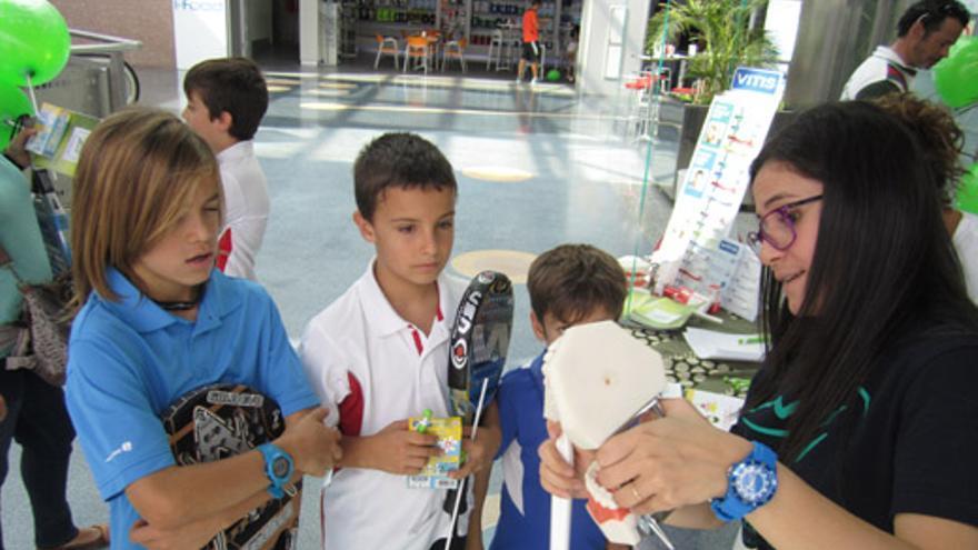 El tenis chico triunfa entre los más chicos