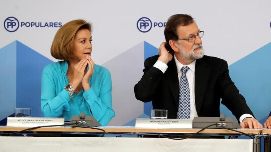"""Rajoy: El PSOE ha """"dilapidado su herencia"""" al elegir """"pésimos"""" compañeros de viaje"""