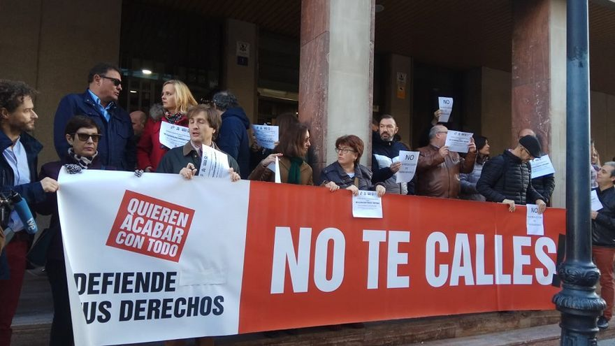 Trabajadores de Justicia de la región se unen a las protestas contra la reforma de la Ley del Poder Judicial