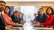 El plan del Gobierno para los presupuestos: guiños a ERC y Ciudadanos a la espera de que Torra convoque elecciones