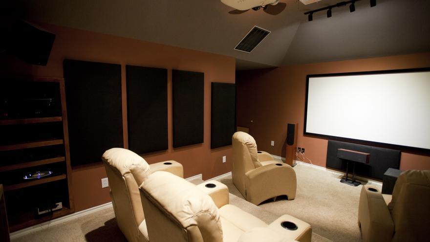 Un cine en casa (Fuente: Gsloan /Flickr)