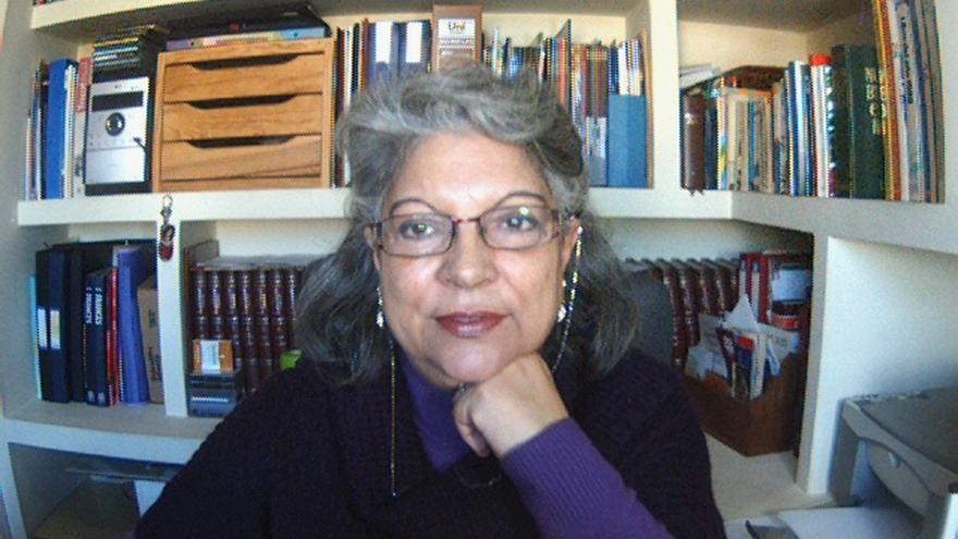 Mercedes López Herrera, presidenta de la Asociación Mujeres y Teología de Sevilla.