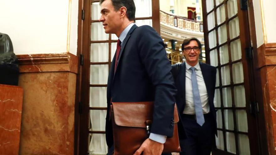 Sánchez y los ministros se someten este miércoles a la primera sesión de control en el estado de alarma