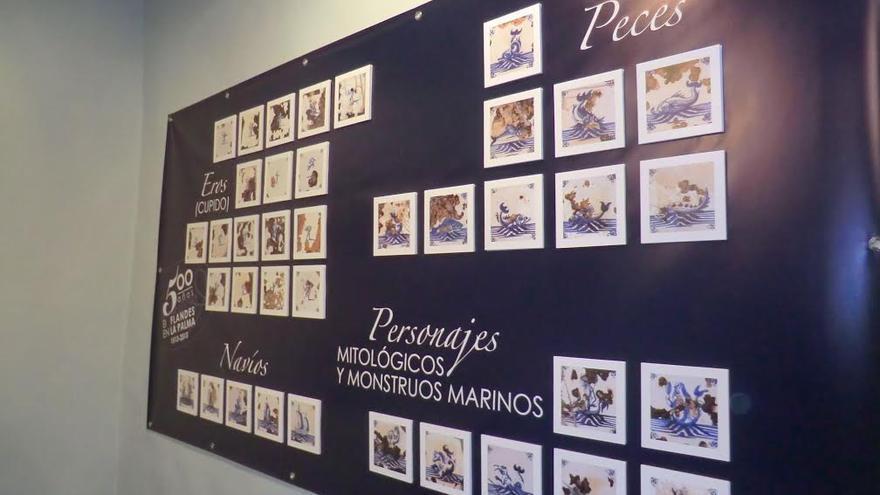 Entre las exposiciones que ofrece el Cabildo figura la titulada 'El Azul de Delft: Los Azulejos de las Torres de Santo Domingo'.