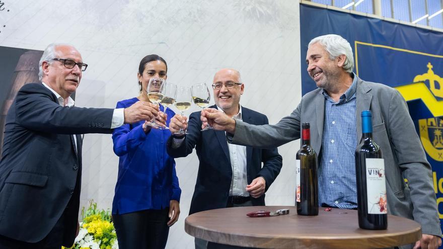Momento del acto celebrado este lunes en el Cabildo de Gran Canaria