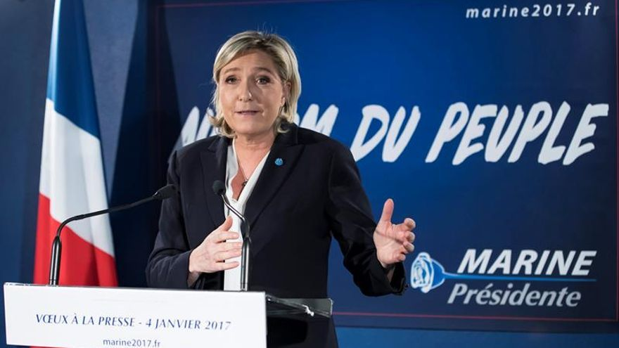 Marine Le Pen busca en EEUU apoyo político y económico para su campaña