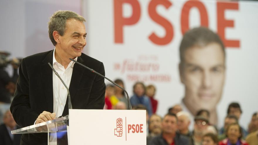 """Zapatero: """"Espero que Madina esté en las listas y también en el Parlamento"""""""