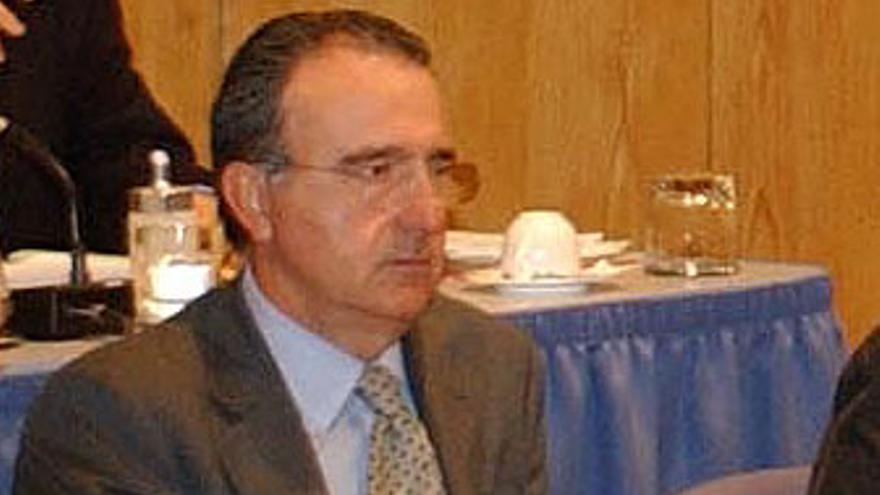 'Curro' Fernández Roca, en un pleno de LPGC.