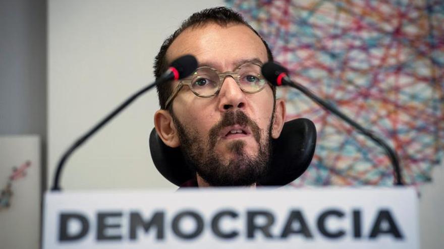 Podemos cree que Justicia belga demuestra que Rajoy se ha pasado de frenada