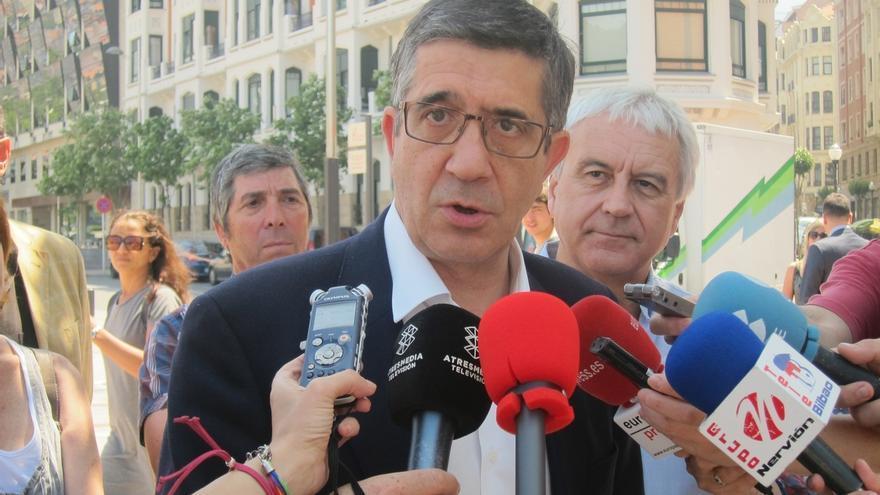 """López ve """"intolerable"""" que Rajoy mantenga a Fernández Díaz e insta a """"cesar a este ministro indigno"""" en las urnas"""