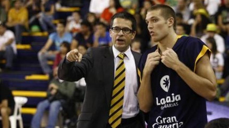 Pedro Martínez durante un partido liguero. (cbgrancanaria.net)