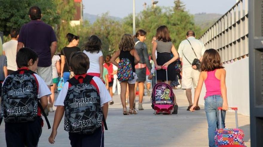Inicio del curso escolar. FOTO: Europa Press