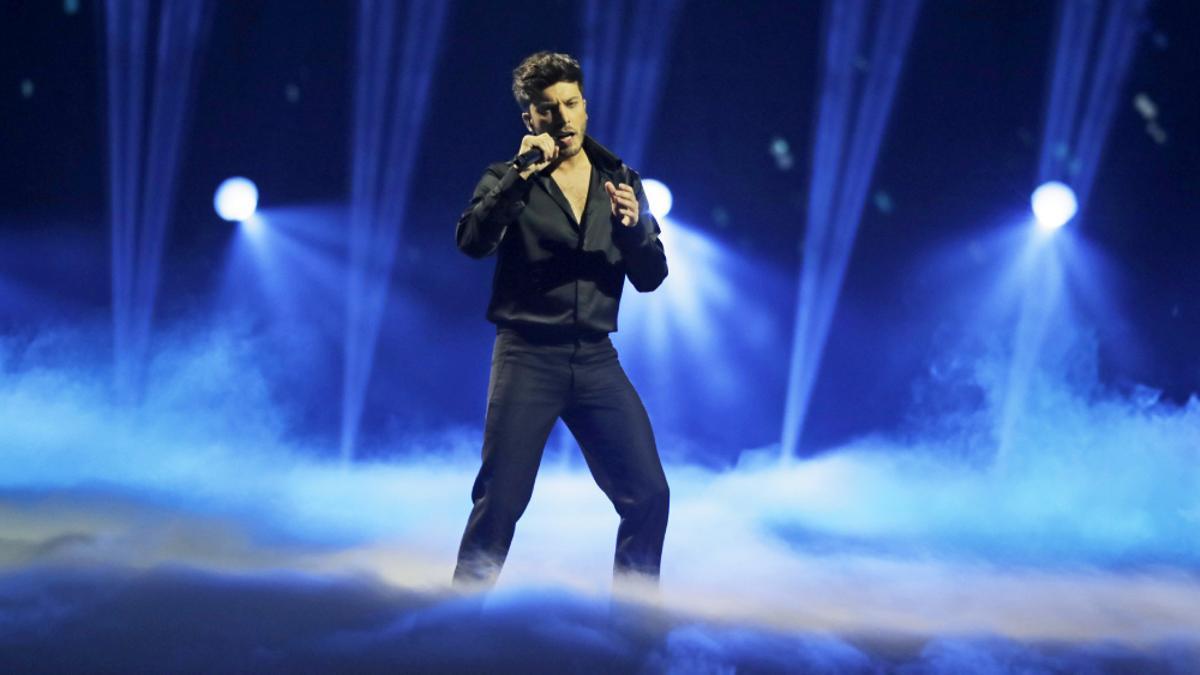 Blas Cantó, en Eurovisión 2021