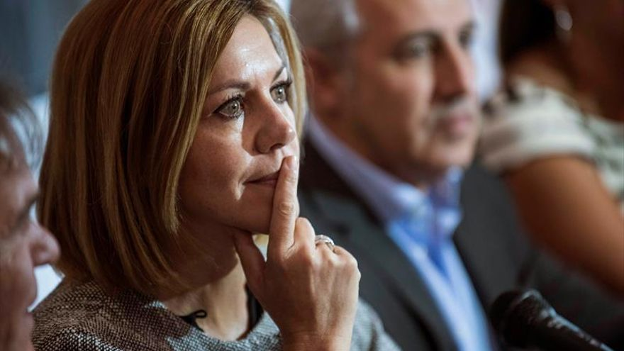 "Cospedal censura a los ""extremistas"" que invitaron al Parlament a Otegi"
