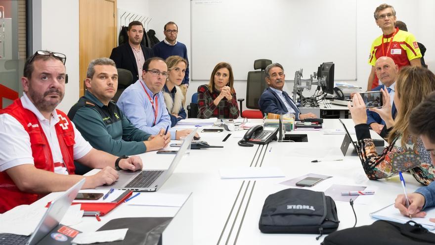 El temporal deja cuatro rescates y 160 incidencias en Cantabria, donde remite al mejorar las previsiones meteorológicas