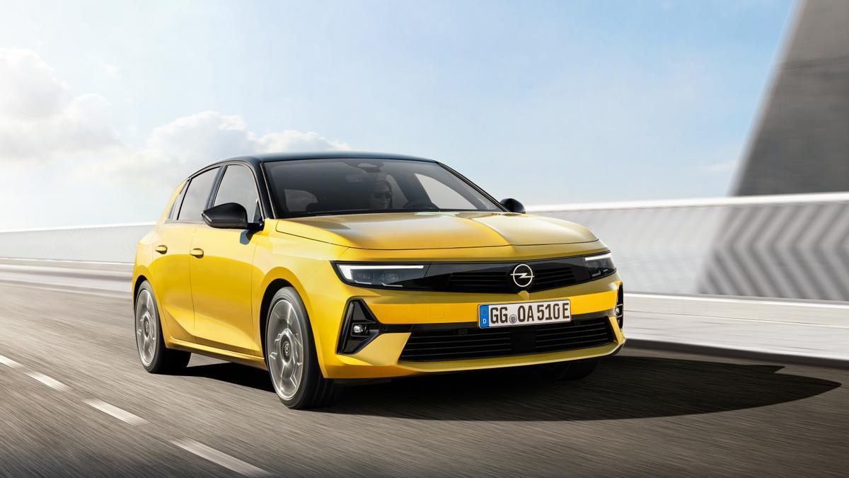 La sexta generación del Opel Astra dispondrá de una versión 100% eléctrica