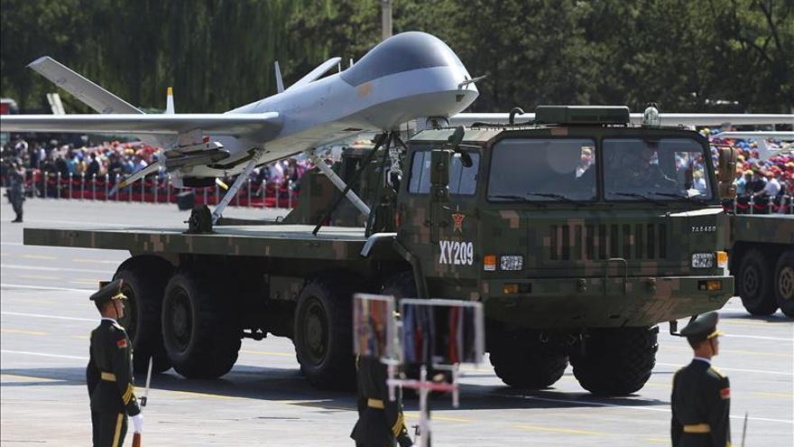 China escondió sus mayores avances militares en el desfile, dicen expertos