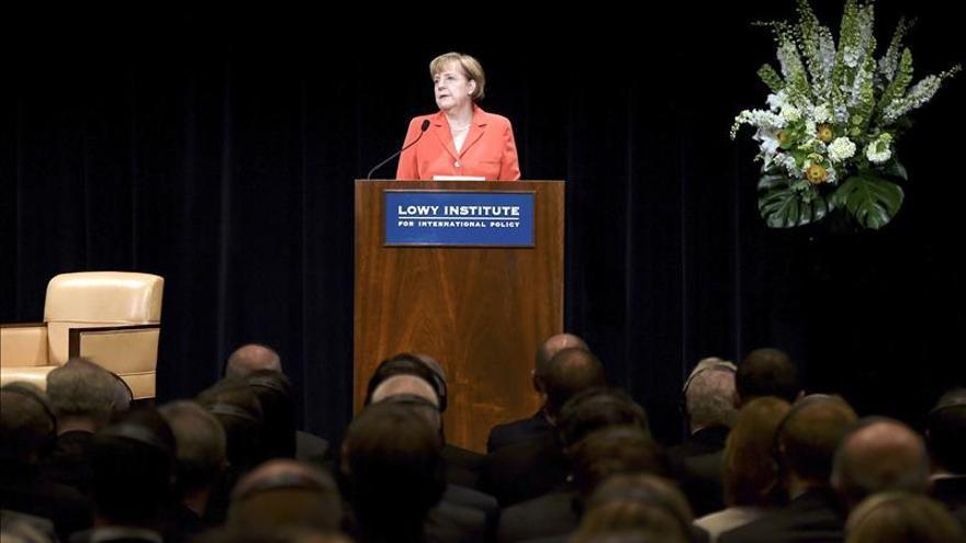 Merkel advierte que tomará tiempo para que las sanciones a Rusia hagan efecto