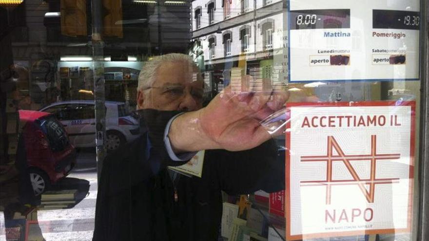 El napo, la moneda de Nápoles contra la crisis