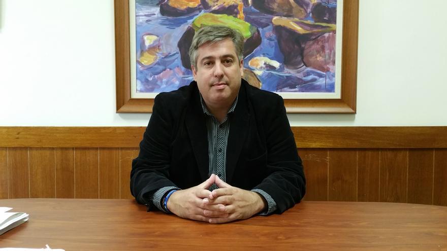El consejero Jorge González apuesta por convertir la Isla en una plataforma tecnológica. Foto: LUZ RODRÍGUEZ.