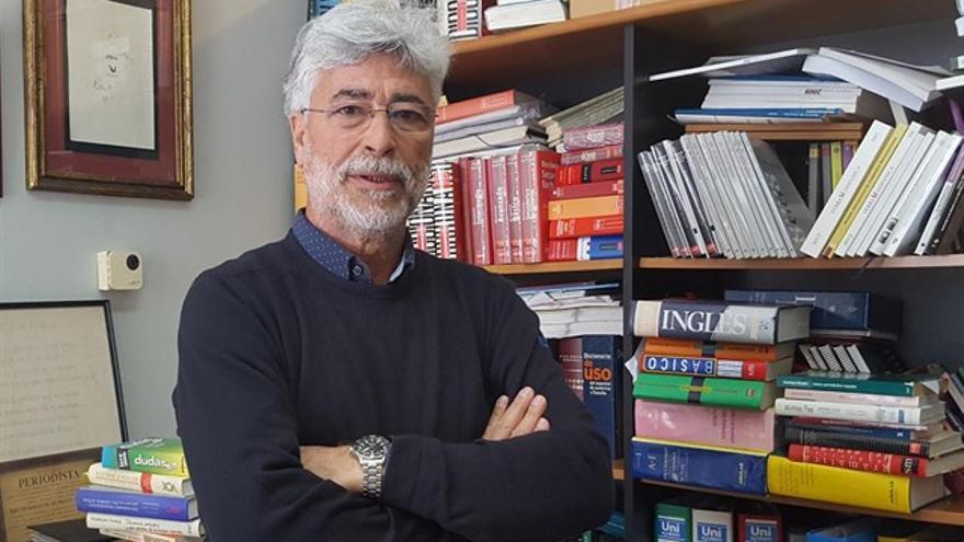 Humberto Hernández es presidente de la Academia Canaria de la Lengua.