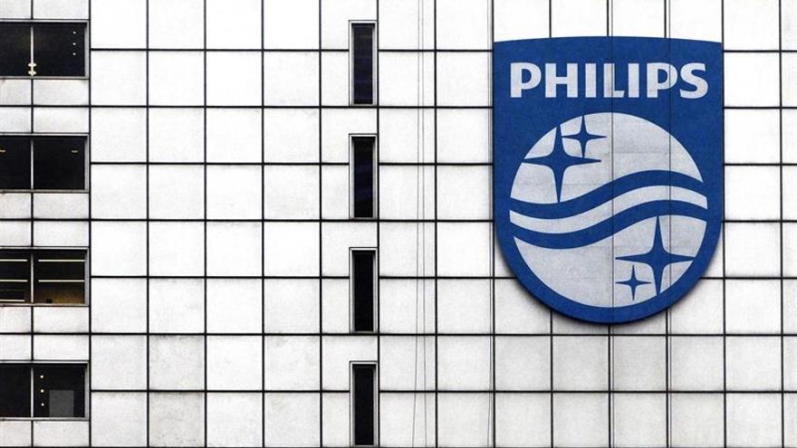 Philips obtuvo un beneficio de 259 millones de euros en el primer trimestre