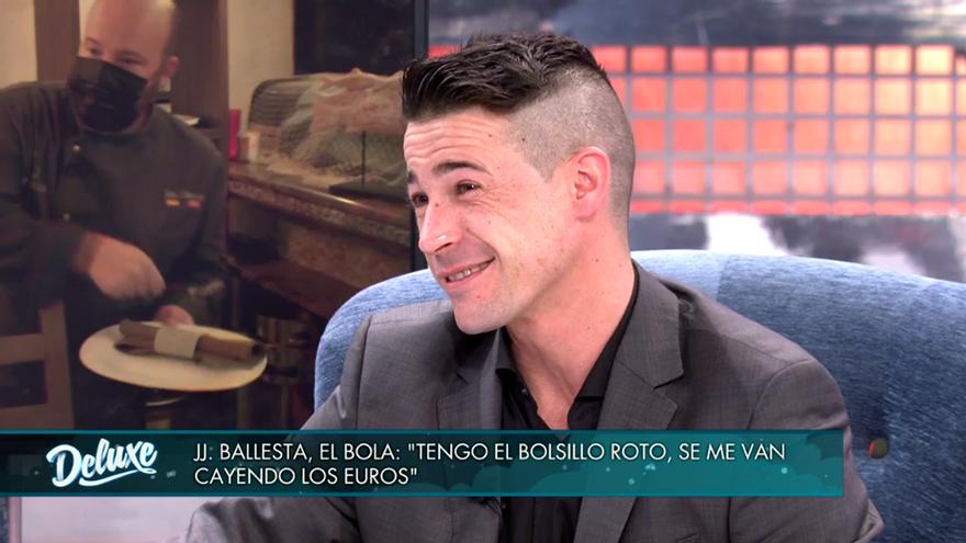 Juanjo Ballesta, en 'Sábado Deluxe'