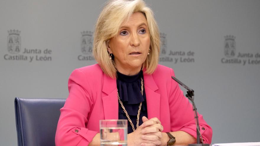 La consejera de Sanidad de la Junta de Castilla y León, Verónica Casado.