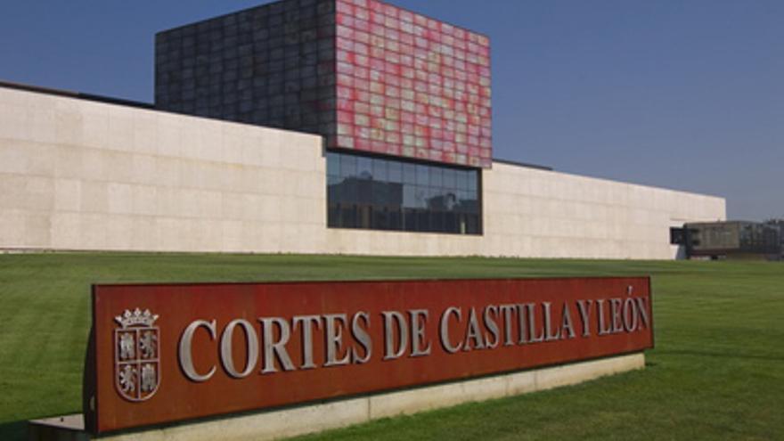 Edificio de las Cortes de Castilla y León.